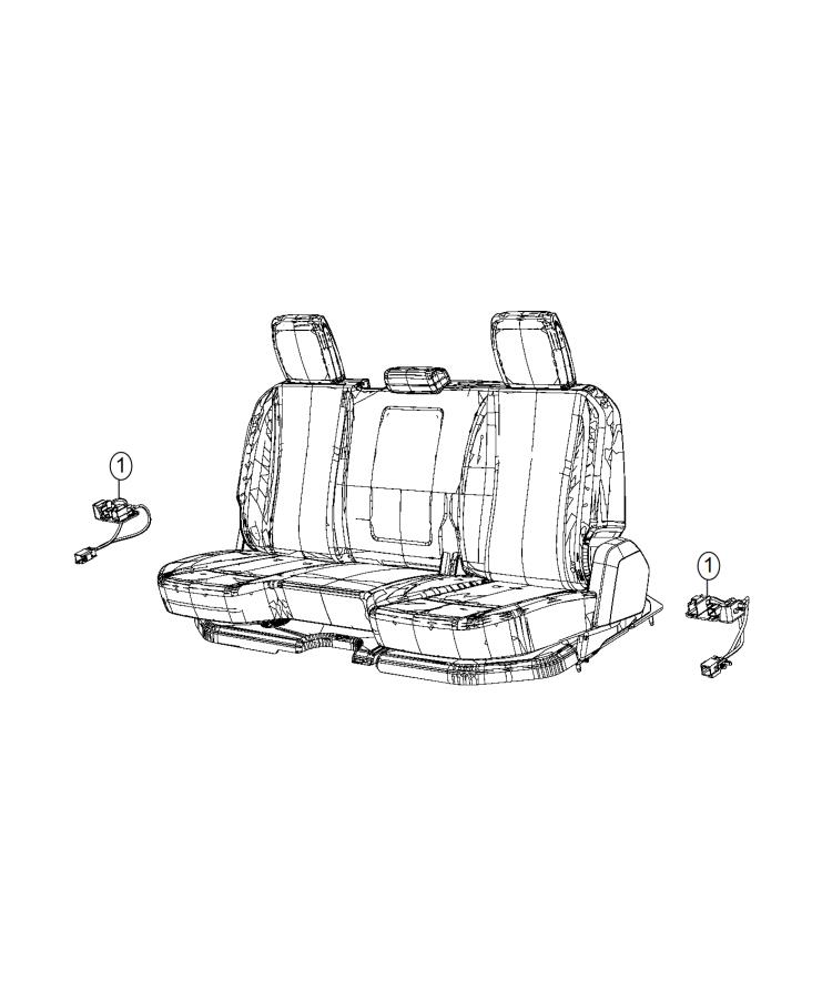 Ram 3500 Wiring  Rear Seat