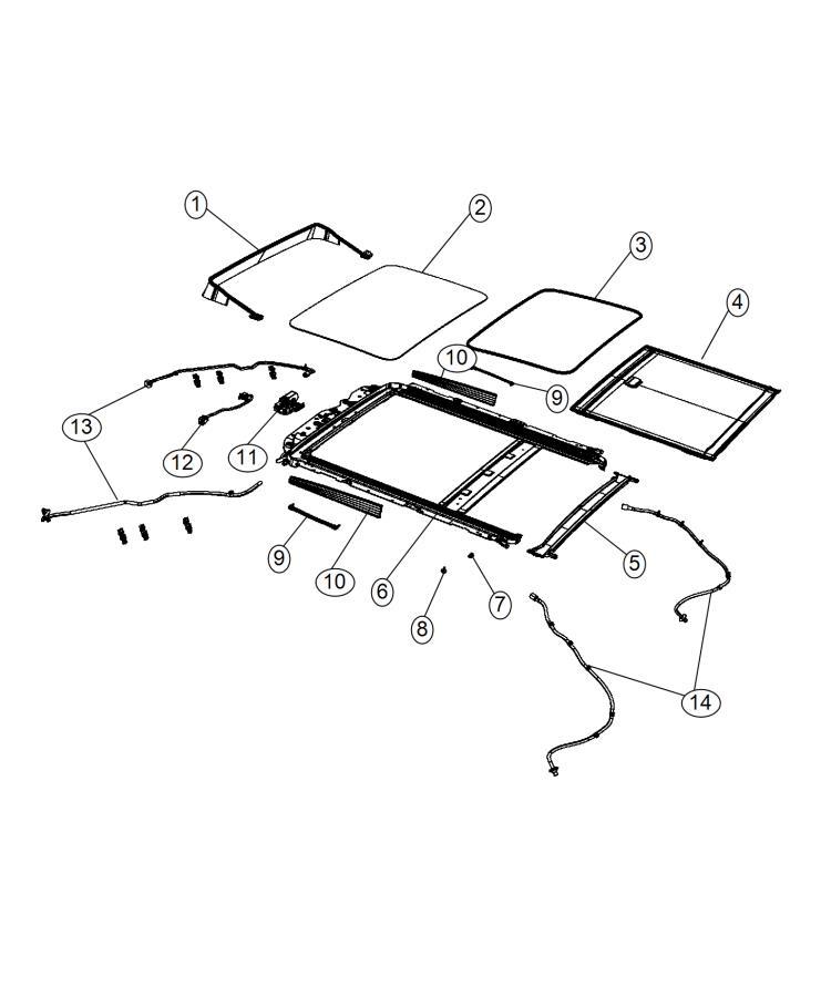Chrysler 200 Glass. Sunroof. Trim: [no Description