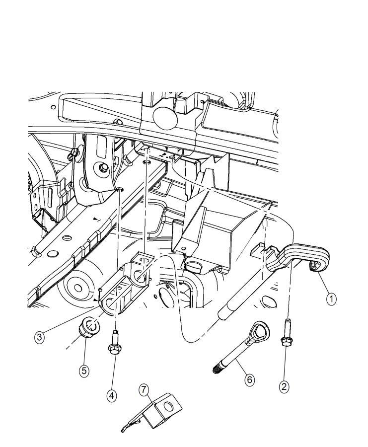 Jeep Grand Cherokee Bracket  Tow Hook   Tow Eye Brackets