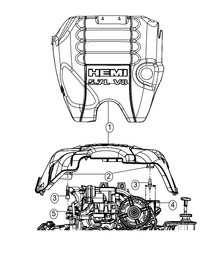 Ram 2500 Cover  Engine