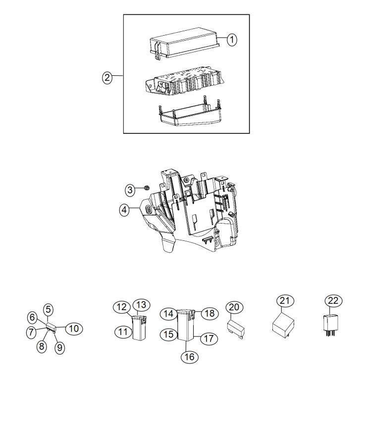 2015 dodge durango fuse  export  j case  40 amp