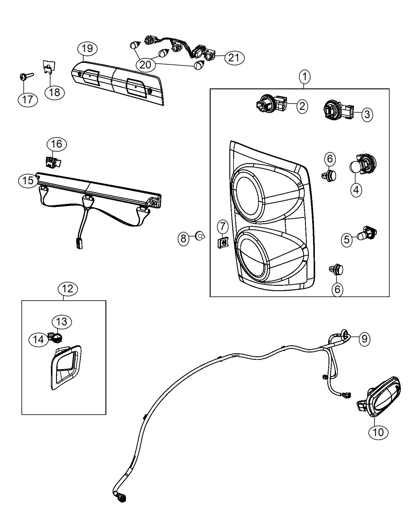 dodge ram 3500 wiring  fender lamp   dual rear wheels   wheelsdelete  wheelsblackbluec