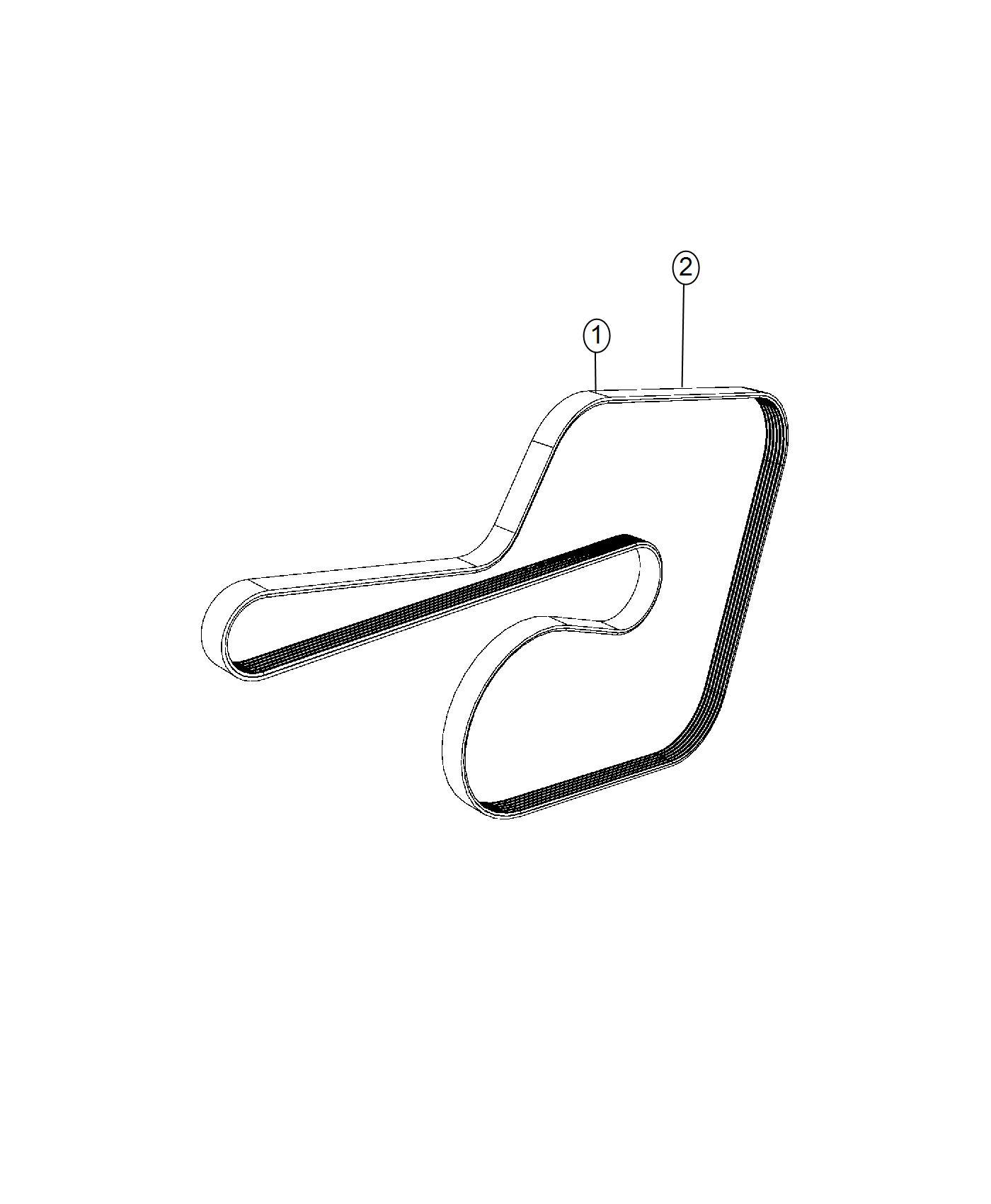 Dodge Charger Belt  Serpentine  Vbelts