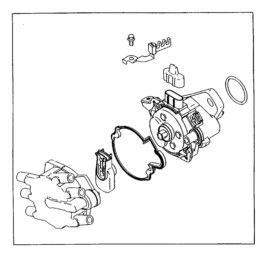 Plymouth Breeze Distributor  Engine