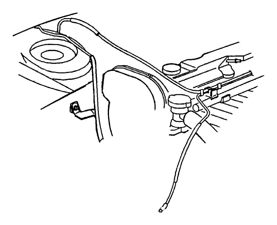 Dodge Stratus Harness  Vapor Purge