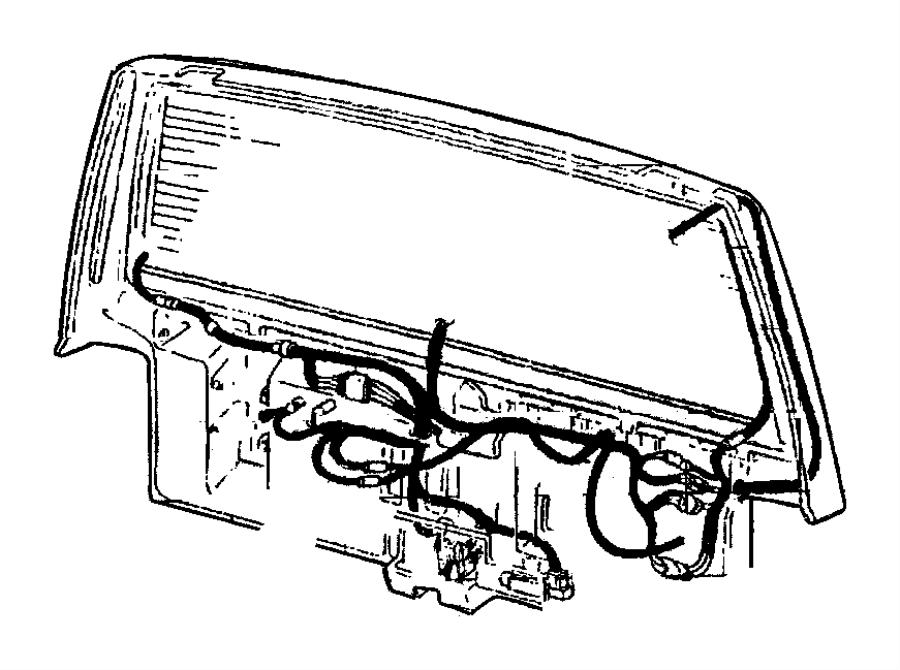 2000 jeep cherokee wiring  liftgate  dutyargentina
