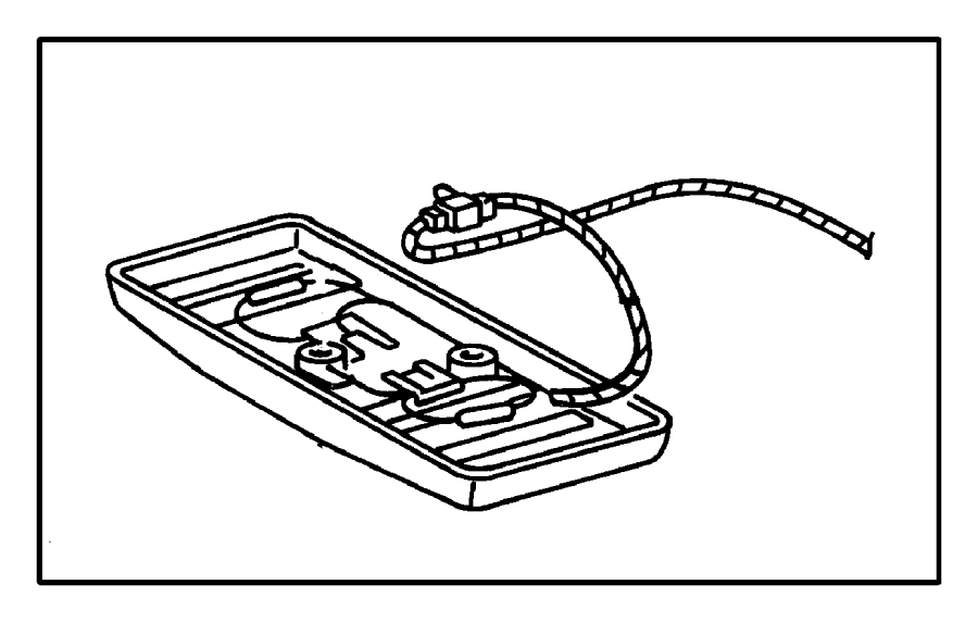 Chrysler Cirrus Wiring  Used For  Dome And Reading Lamp