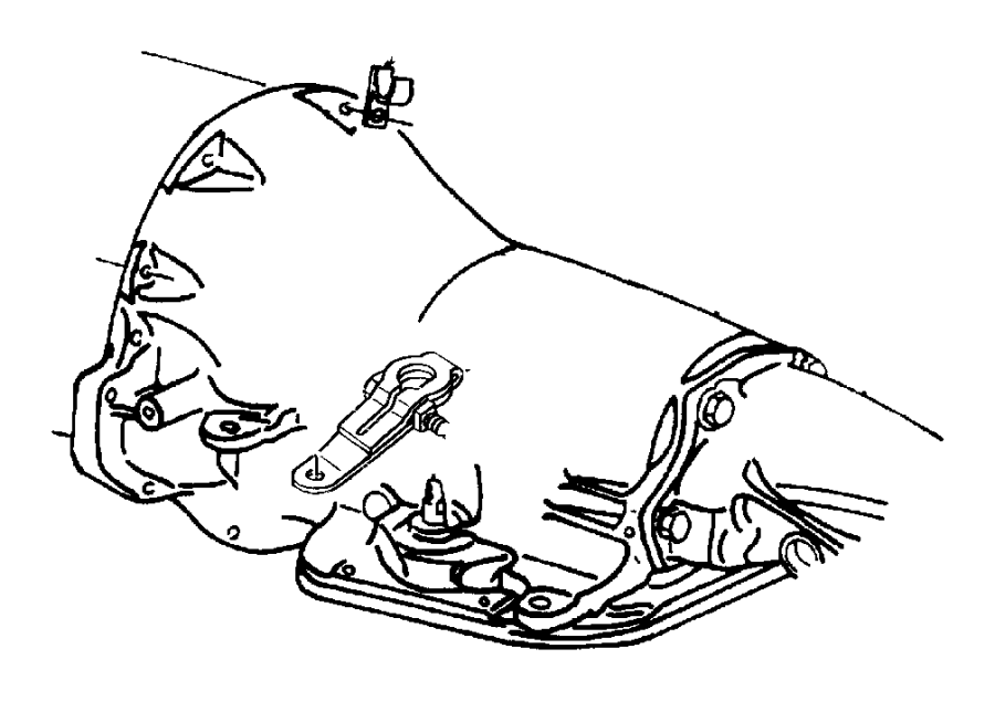 Dodge Ram 2500 Clip  Rear Sensor