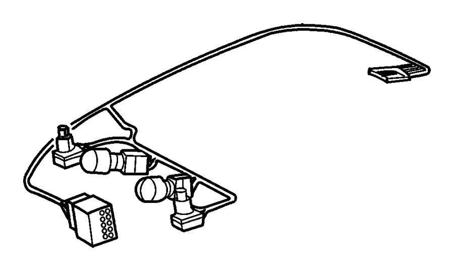 Dodge Ram 1500 Wiring  Overhead Console  Trim   All Trim