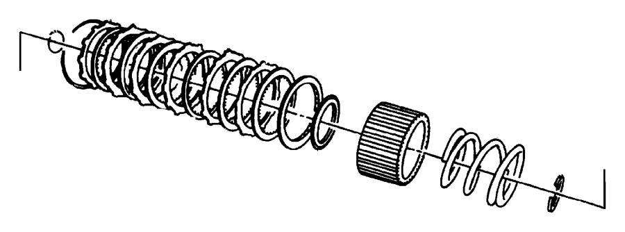 04461032 Mopar Spring Direct Clutch Wave Mopar Parts