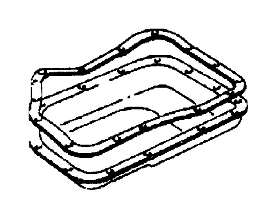 52118779ad Jeep Pan Transmission Oil Mopar Parts