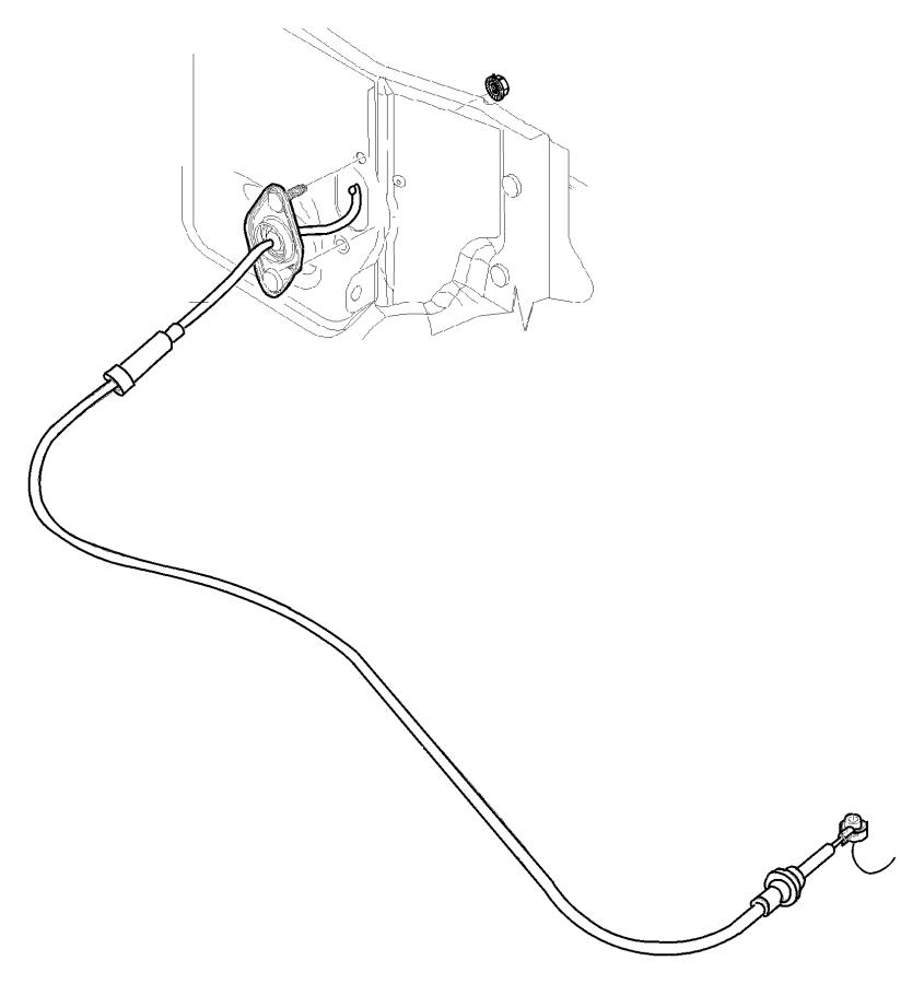 Dodge Ram 3500 Cable Shift 52107700ae Mopar Parts