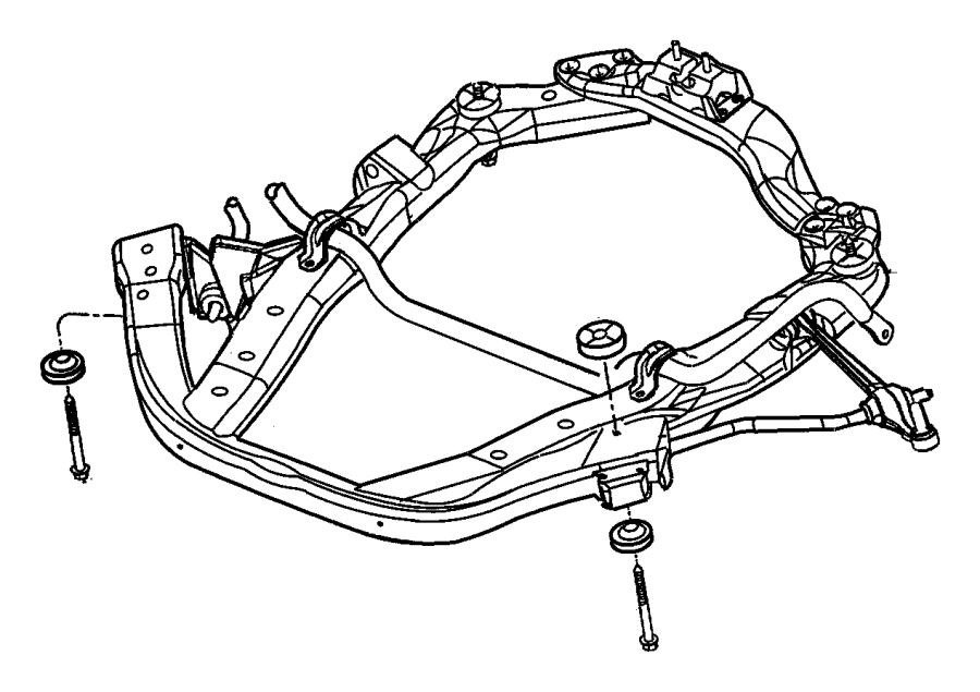 Frame front for Suspension sdb