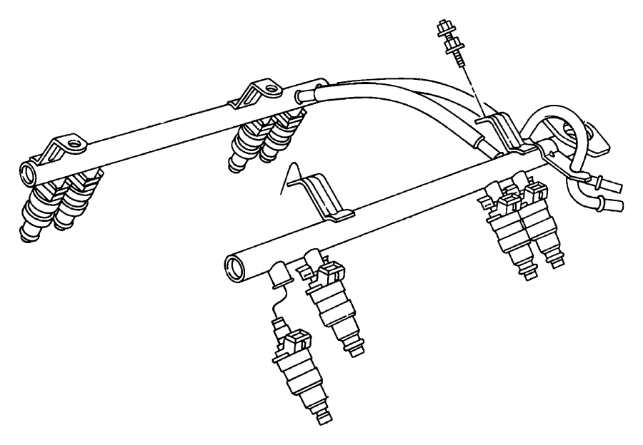 Rl854181 - Jeep Injector  Fuel  5 2l  Engines