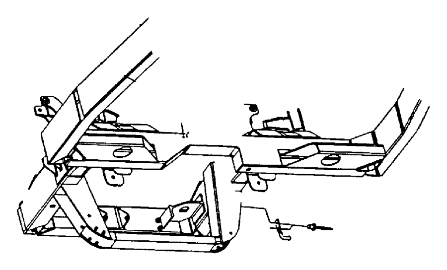 2007 chrysler aspen insulator  isolator  exhaust  exhaust support  seperately  insulators
