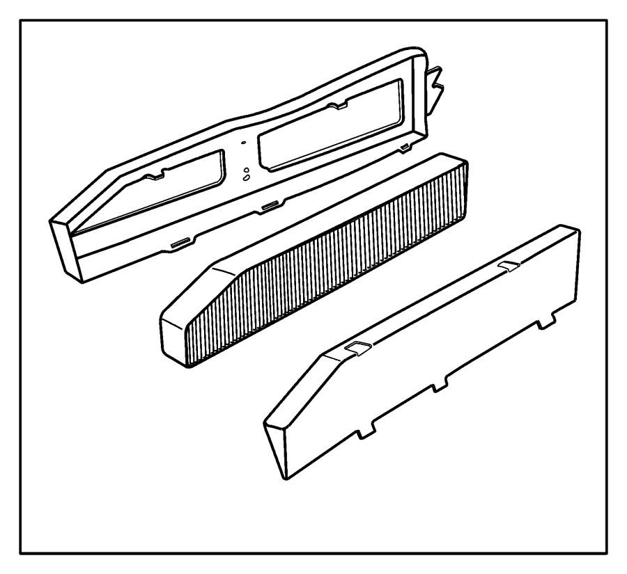 82208300 Jeep Air Filtration Interior Filter Kit