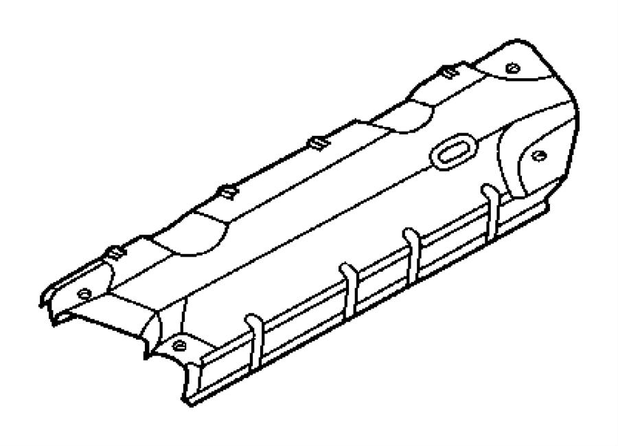 Chrysler Aspen Shield  Exhaust Manifold  Left  Left Side
