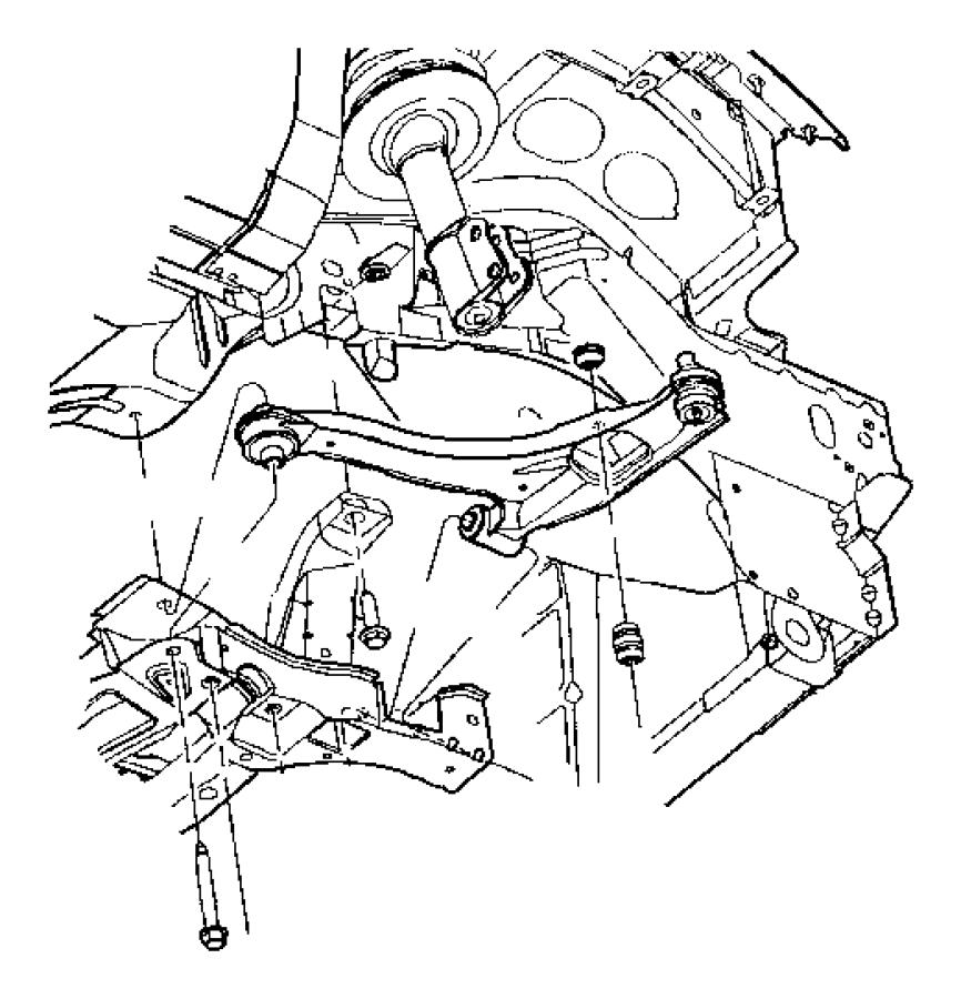 05272505aa mopar cushion sway eliminator sdb base for Suspension sdb
