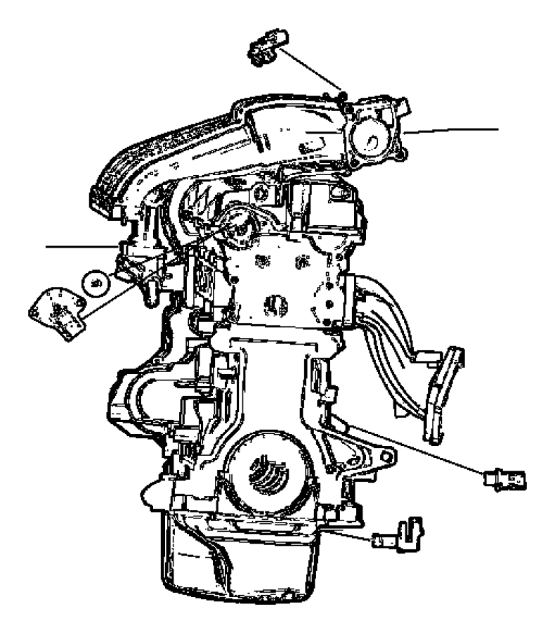 Chrysler Pt Cruiser Sensor  Crankshaft Position  After 06  21  04