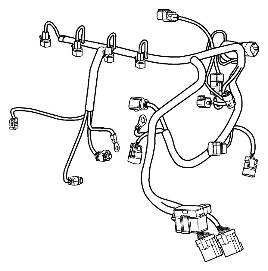 2004 Dodge Neon Sxt 2 0l 4 Cyl A  T Wiring  Engine