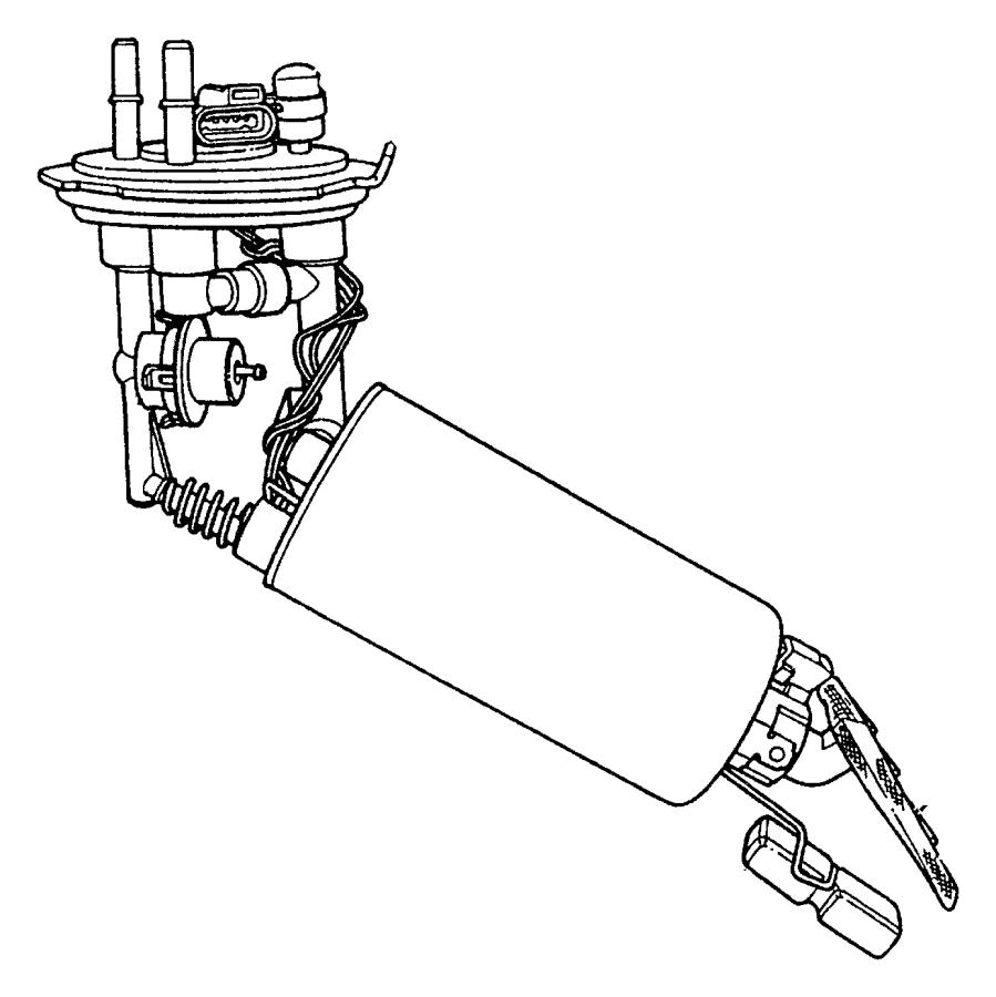 05018704aa - dodge module kit  fuel pump  level unit  export   emissions
