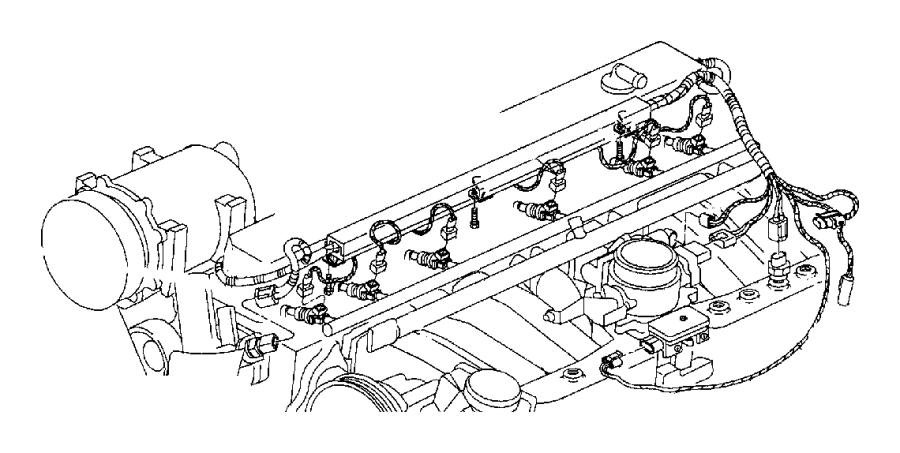 2004 jeep wrangler wiring  engine   na1  nbj    nas  nbj
