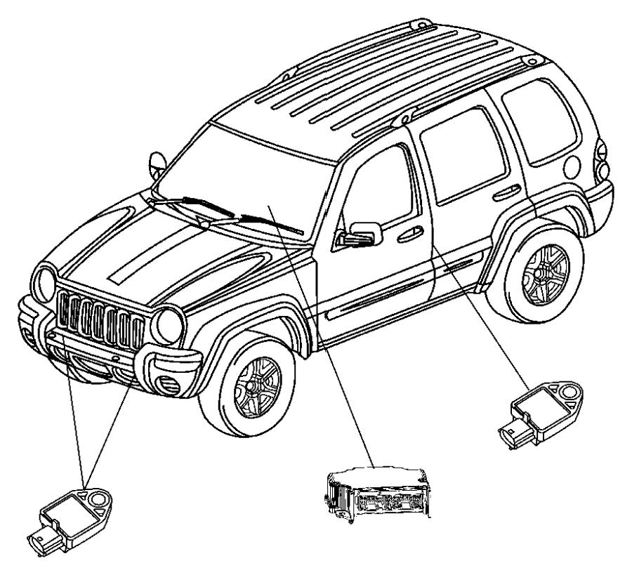 2010 Dodge Sensor. Air Bag. Genmultistageair