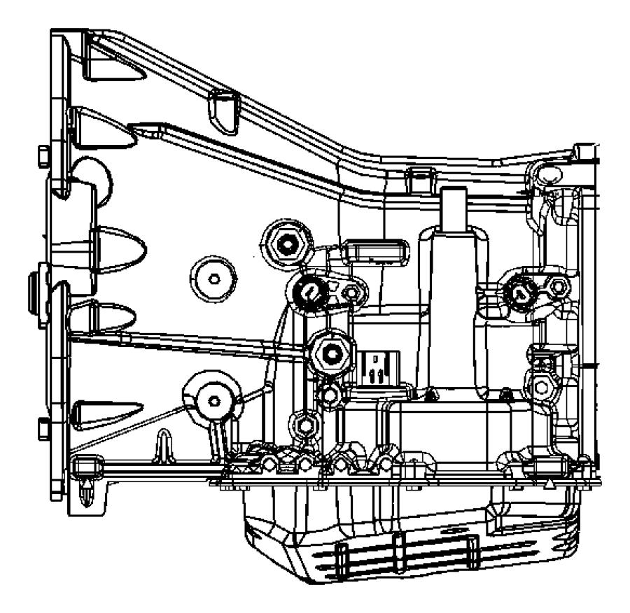 2006 Dodge Magnum R  T 5 7l Hemi V8 Fitting  Fitting Kit  Quick Connect  Cooler Line To Trans