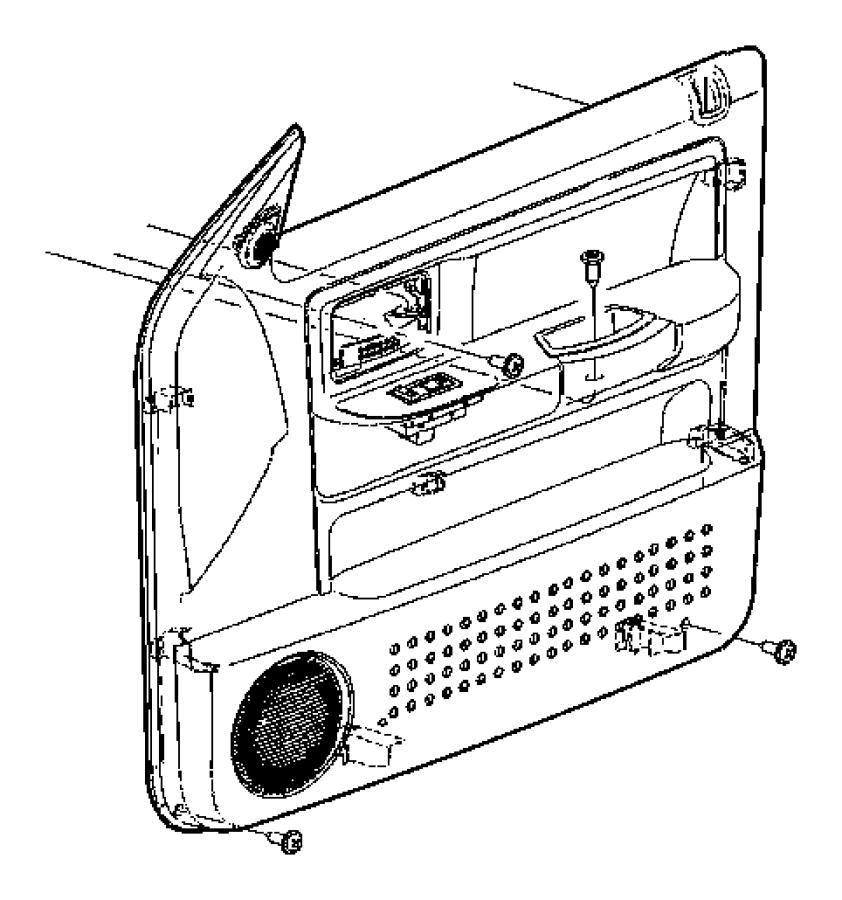 2005 Dodge Ram 1500 Infinity Wiring Diagram: 2005 Dodge Panel. Left. Front Door Trim. Trim: (*o0.)color