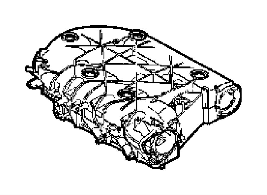 2005 Chrysler Pacifica Plenum Intake Manifold