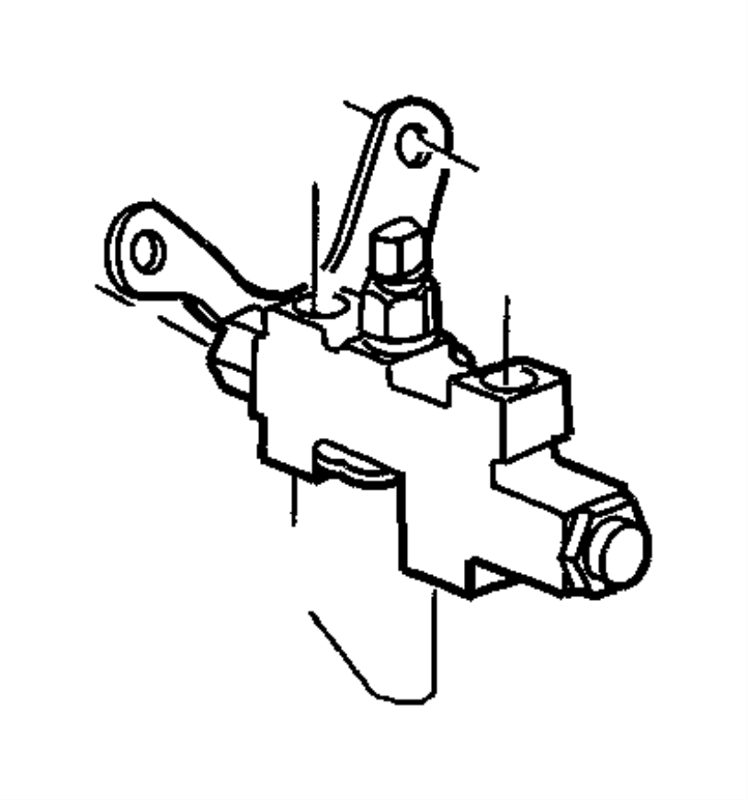 2001 Jeep Grand Cherokee Brake Line Diagram