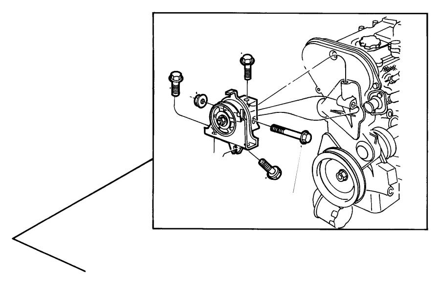 dodge 3 3l engine bracket diagrams