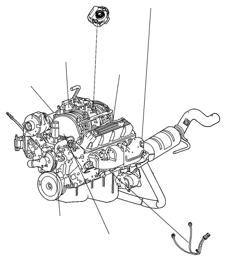 Dodge Ram 1500 Sensor  Knock