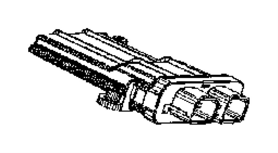 56043195az - mopar module  occupant classification  trim   seats