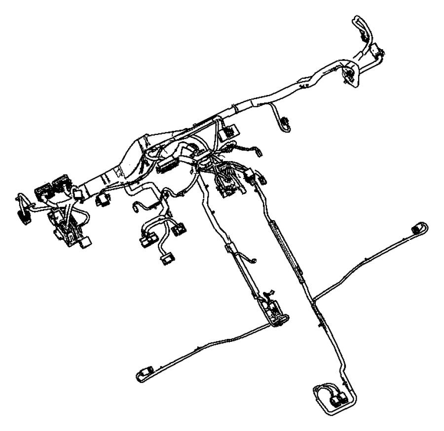 Chrysler Pt Cruiser Wiring  Instrument Panel   6 Boston