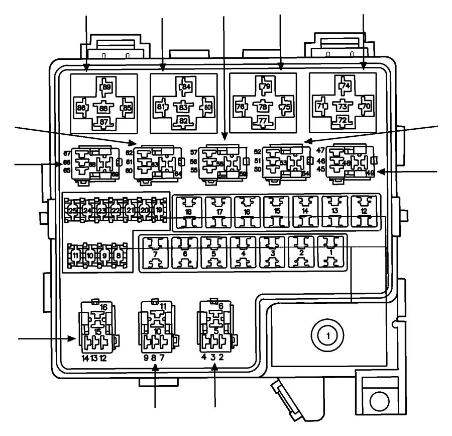 dodge avenger fuse  fuse cartridge  j case  30 amp  export  mexico  us  canada  trim