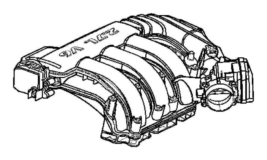 Dodge Challenger Gasket  Throttle Body   4 0l V6 Sohc Engine