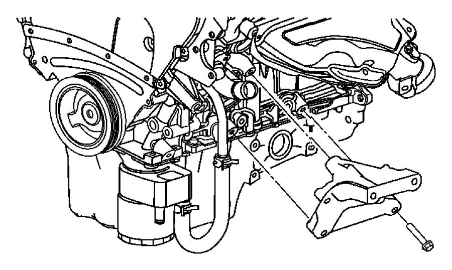 Dodge Charger Bracket  Engine Mount  Left  Left Side