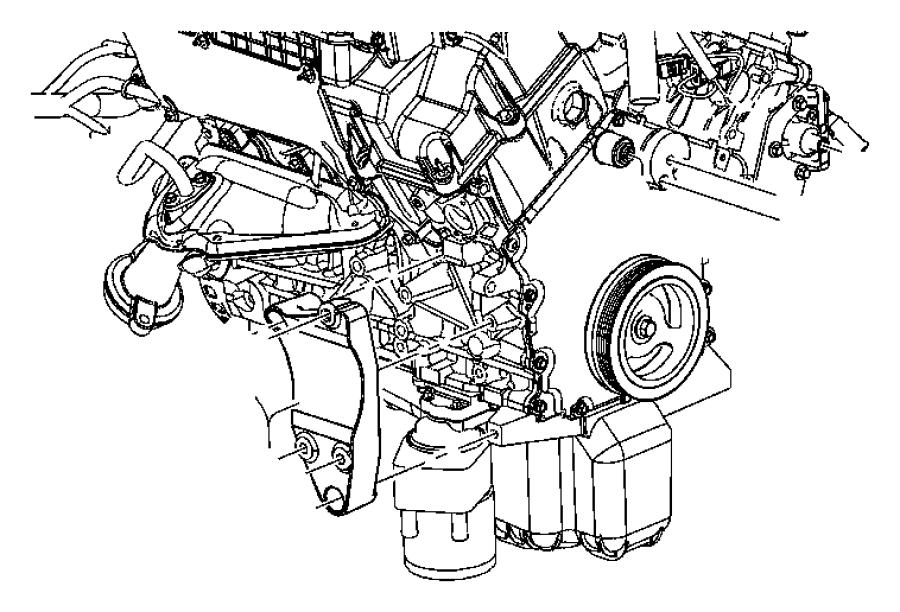 dodge ram 1500 pulley  power steering pump