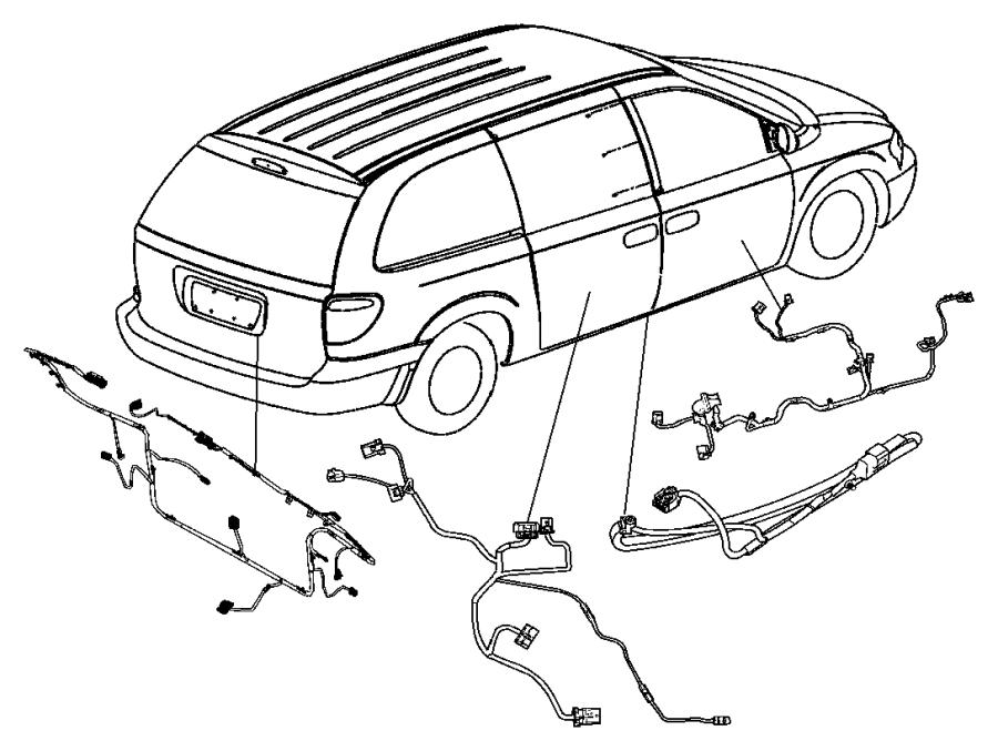 2006 Dodge Caravan Wiring  Liftgate   Jpb