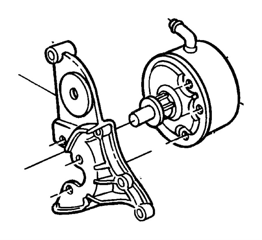 04612674 Mopar Bracket Pump Mopar Parts Overstock