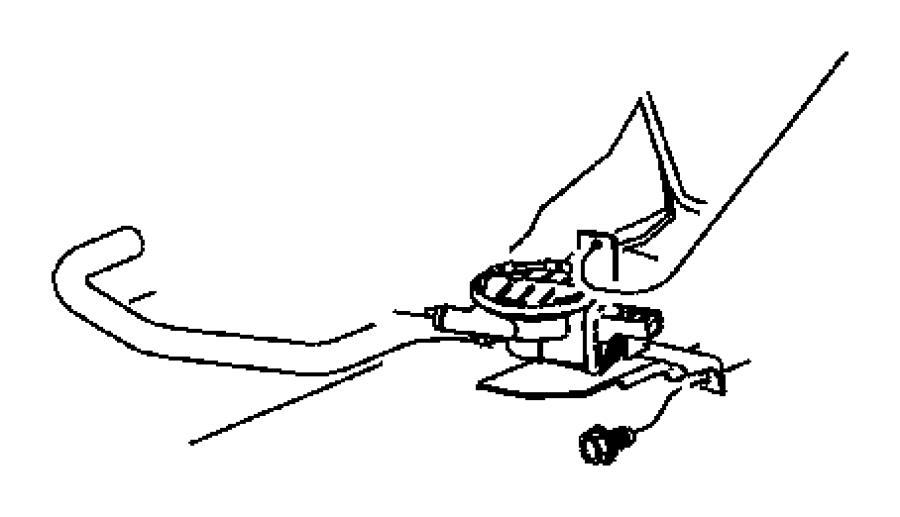 2004 Dodge Hose  Canister To Nvld