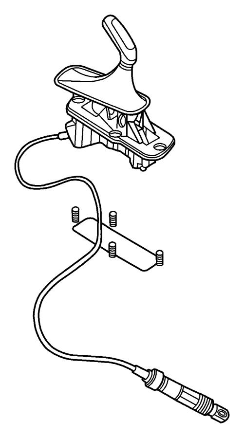 Jeep Liberty Shifter  Transfer Case  Systemcommandtrac