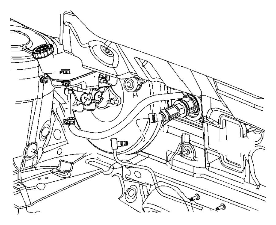 2009 Dodge Caliber Actuator  Hydraulic Clutch