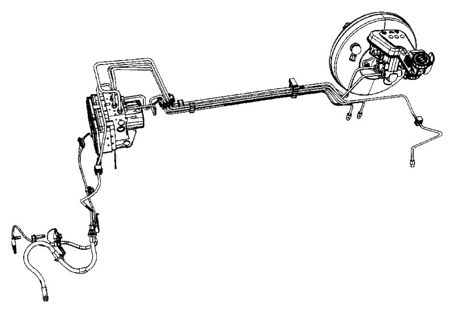 2007 Chrysler Control Unit  Hydraulic Control Unit  Anti