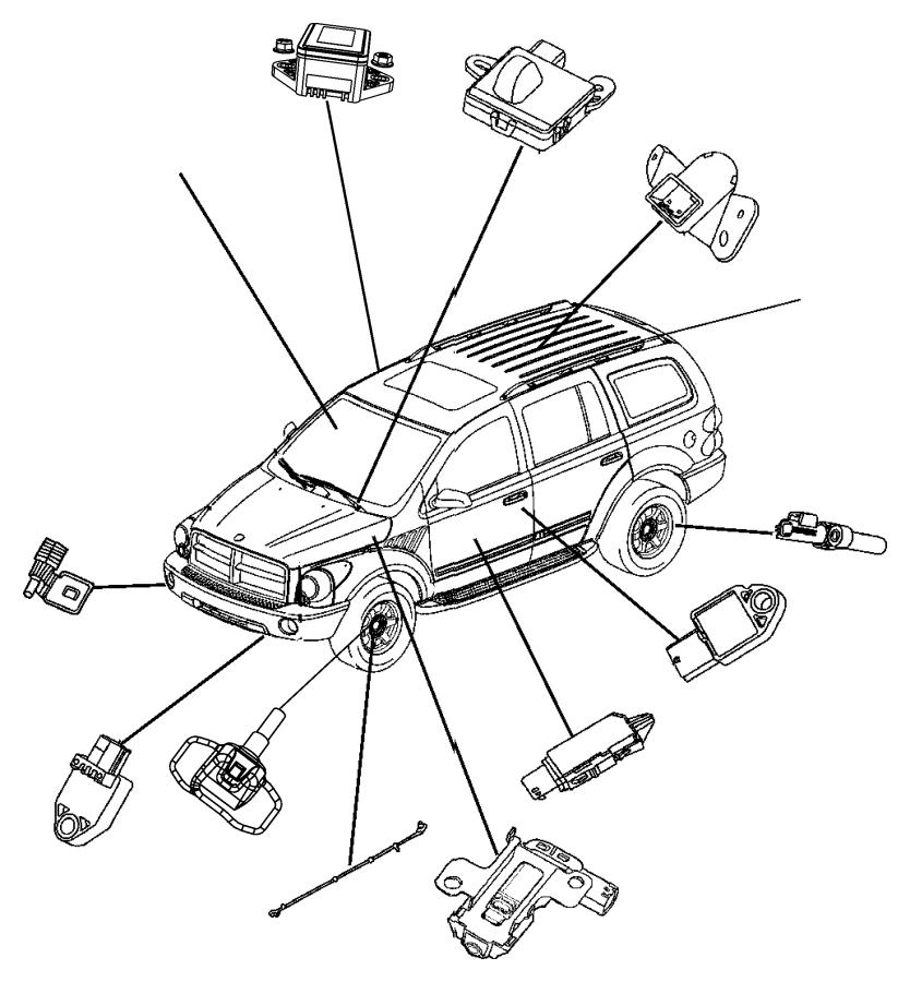 F430 Wheel Acceleration Sensors: Dodge Module, Sensor. Dynamics, Electronic