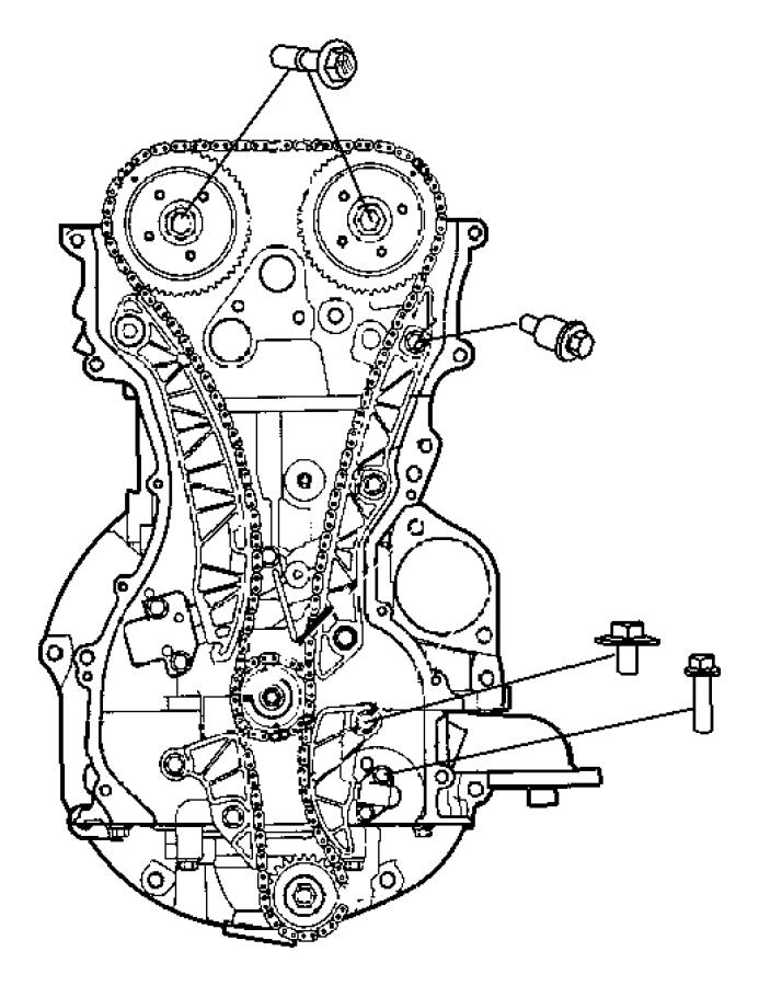 caliber timing system 2 0l  2 0l 4 cyl dohc 16v dual vvt engine