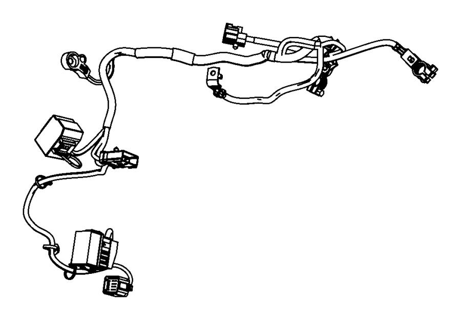 2007 chrysler sebring wiring  battery  contains jump start