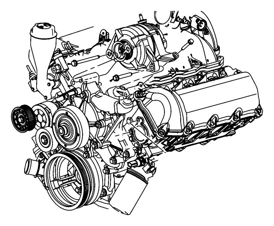 Dodge Nitro Generator  Engine   160 Amp Alternator    140