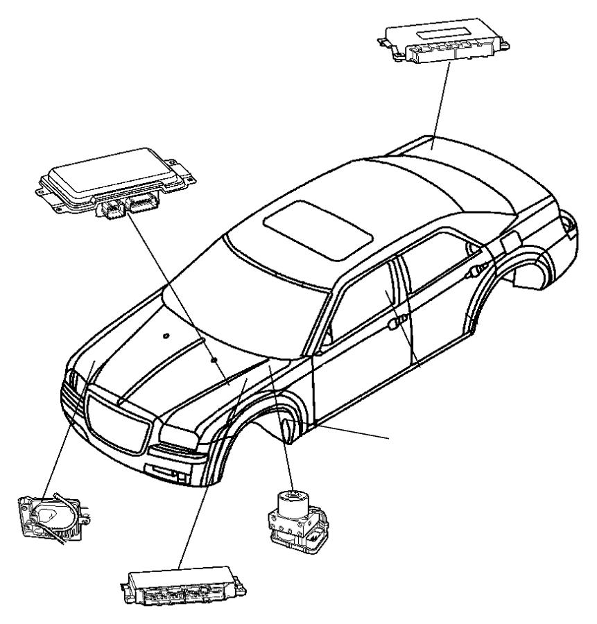 F430 Wheel Acceleration Sensors: Mopar Module. Anti-lock Brake System